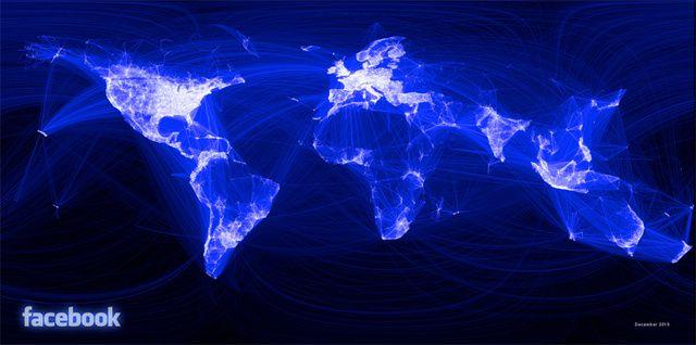 Facebook Arkadaşlık Haritası