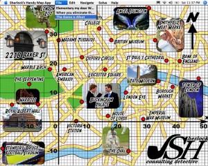 Sharlock's Handy Map