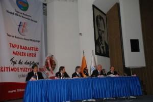 Tapu Kadastro Meslek Lisesi 100.yıl Etkinliği