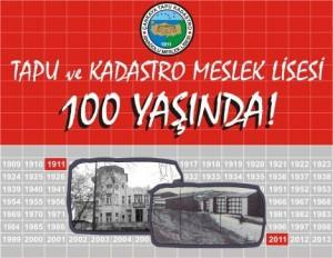 Tapu Kadastro Meslek Lisesi 100.yıl Organizasyonu