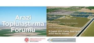 HKMO Antalya Şubesi Arazi Toplulaştırma Forumu