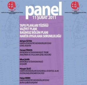 Tapu Planları Tüzüğü Vaziyet Planı Bağımsız Bölüm Planı Harita Uygulama Sorumluluğu Paneli
