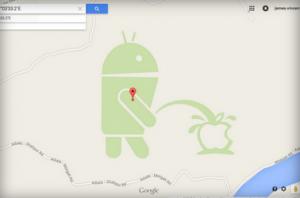 Google Apple'den özür diledi fakat yeterli olmadı.