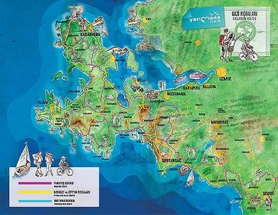 Kültür yolunun haritaları ve özel web sayfası hazırlandı.