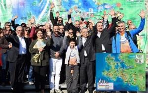Efes-Mimas Yolu Kültür Rotası kamuoyuna tanıtıldı.