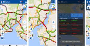 """""""İBB CepTrafik""""; yeni harita altlığı, yazılım optimizasyonları ve görsel tasarımıyla tamamen yenilendi."""